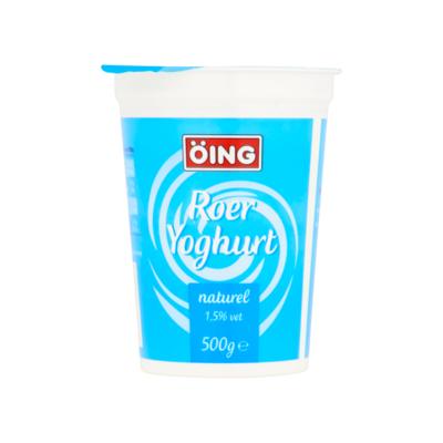 Öing Roer Yoghurt Naturel 1,5% Vet