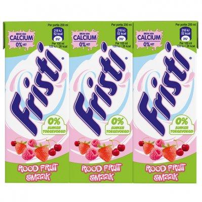 Fristi Rood fruit 0% suiker toegevoegd multi