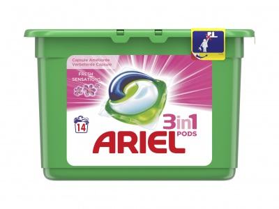 Ariel 3 in 1 pods fresh sensations