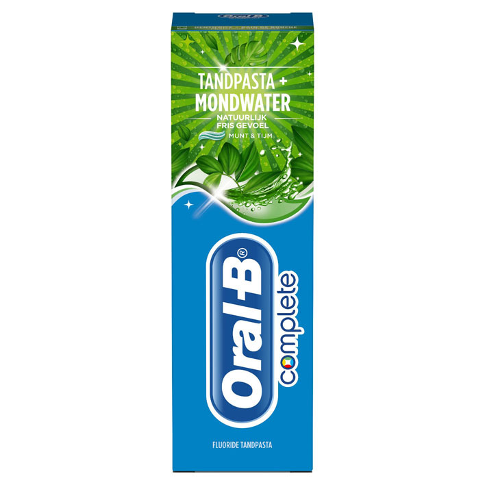 Oral-B Tandpasta natuurlijk fris gevoel