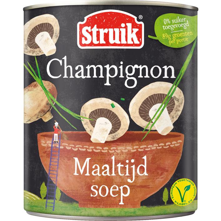 Struik Maaltijdsoep champignon