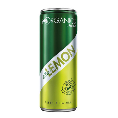 Red Bull Organics bitter lemon