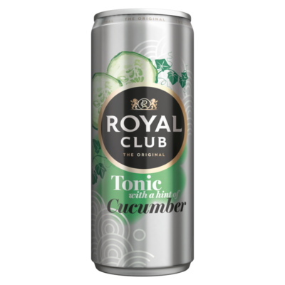 Royal Club Tonic with a Hint of Cucumber