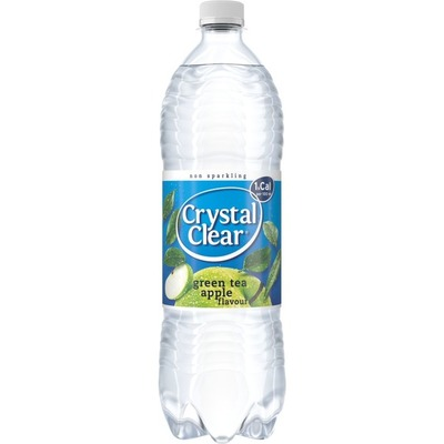 Crystal Clear Non-sparkling green tea apple