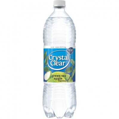 Crystal Clear Koolzuurvrij green tea apple