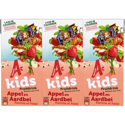 Appelsientje Kids aardbei multipack