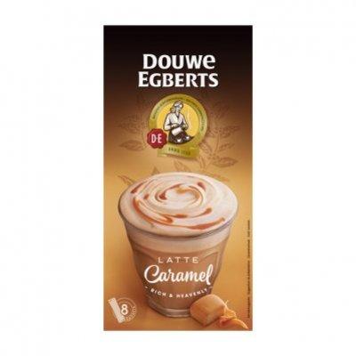Douwe Egberts Verwenkoffie latte caramel oploskoffie