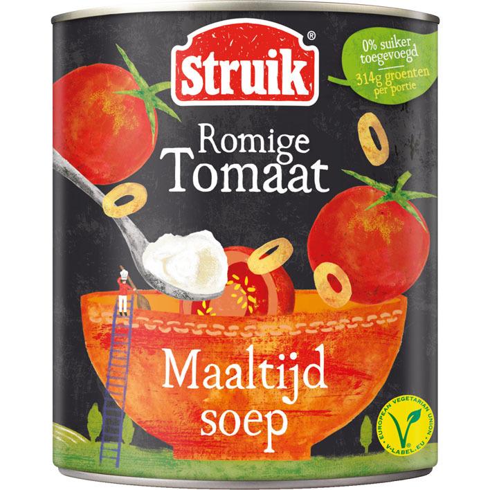 Struik Maaltijdsoep romige tomaat