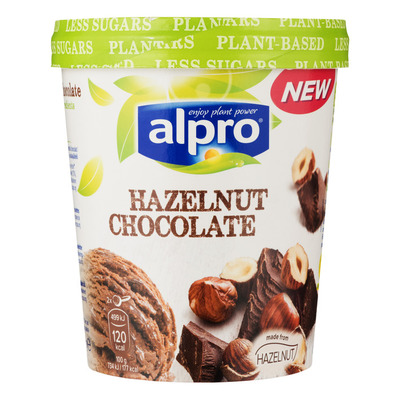 Alpro IJs hazelnut and chocolat