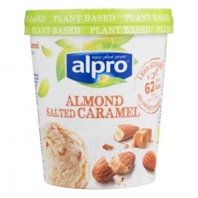 Alpro IJs almond salted caramel
