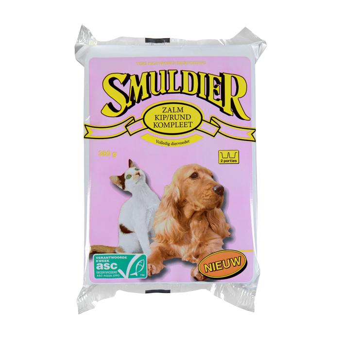 Smuldier Zalm-kip-rund compleet