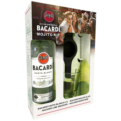Bacardi Carta Blanca Mojito Kit