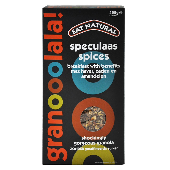 Eat Natural Granooolala speculaas spices