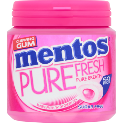Mentos Gum bubble fresh