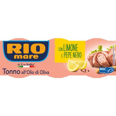 Rio Mare Tonijn limone e pepper