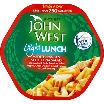 John West Light lunch mediterranean style