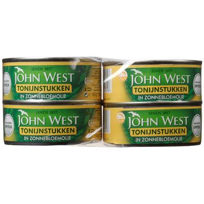John West Tonijnstukken zonnebloemolie