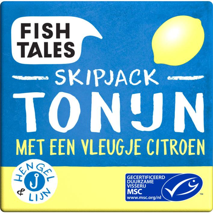 Fish Tales Tonijn skipjack citroen MSC
