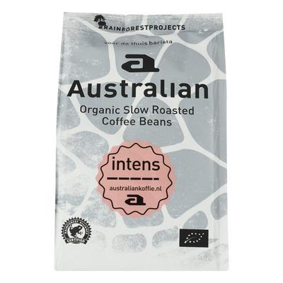 Australian Coffee beans intens biologisch