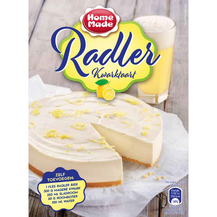 Homemade Radler kwarktaartmix