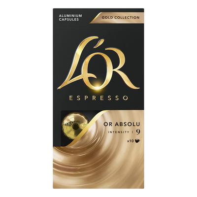 L'OR Espresso or absolu koffiecups