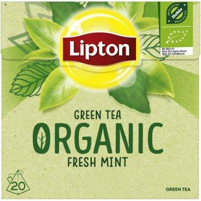 Lipton Groene thee organic mint garden