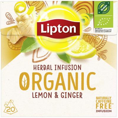 Lipton Infusion ginger & lemon