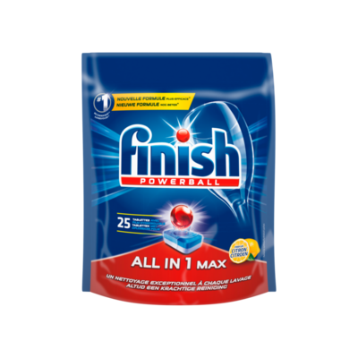 Finish Powerball All in 1 Max Parfum Citroen 25 Tabletten