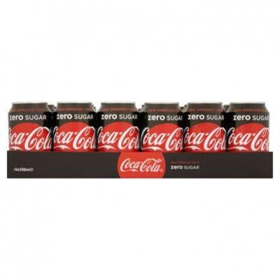 Coca-Cola Zero sugar tray