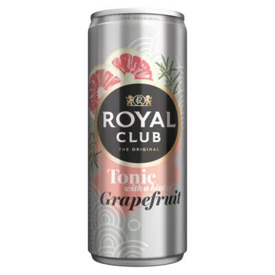 Royal Club Tonic with a Hint of Grapefruit