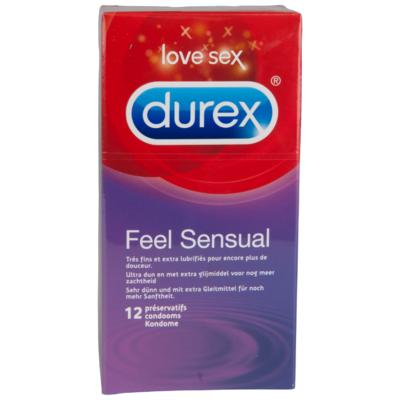 Durex Condooms feeling sensual