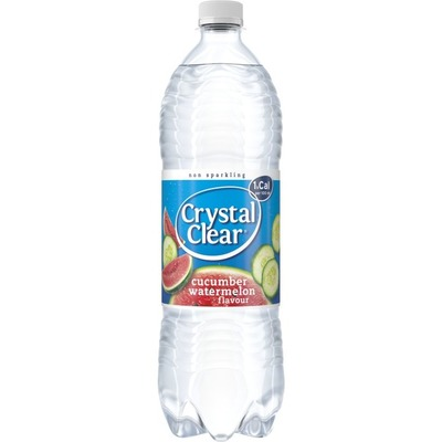Crystal Clear Koolzuurvrij cucumber watermelon