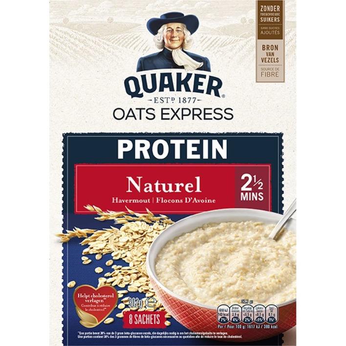 Quaker Havermout proteine naturel