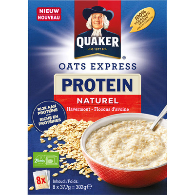Quaker Havermout proteine naturel