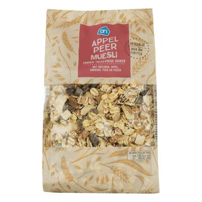 Huismerk Appel-peer muesli