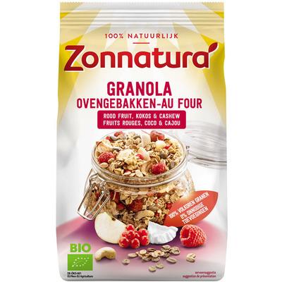 Zonnatura Granola rood fruit