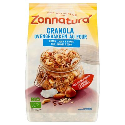 Zonnatura Granola noten en zaden