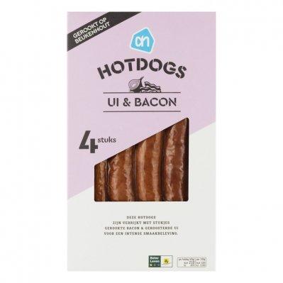 Huismerk Hotdogs bacon ui
