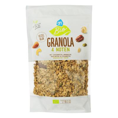 Huismerk Biologisch Granola 4 noten