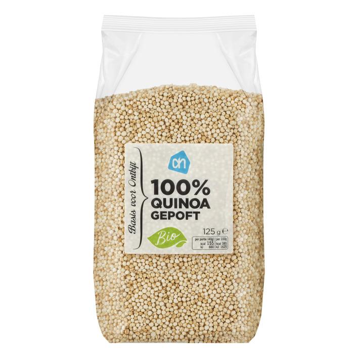 Huismerk Biologisch 100% quinoa gepoft