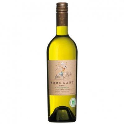 Arrogant Frog Chardonnay organic grapes