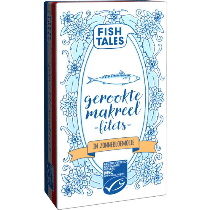 Fish Tales Gerookte hollandse makreel MSC