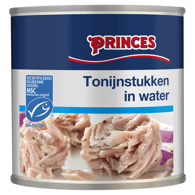 Princes Tonijn stukken in water MSC