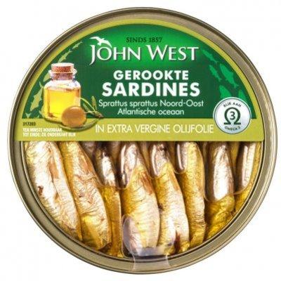 John West Petit sardines extra vergine