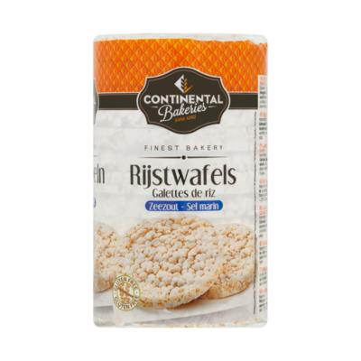Continental Bakeries Rijstwafel met Zeezout