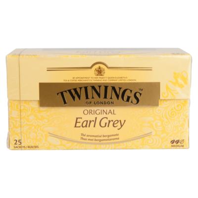 Twinings Zwarte thee earl grey 25 stuks