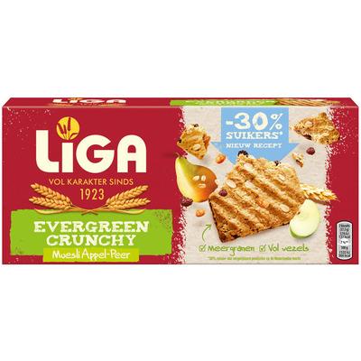 Liga Evergreen crunchy appel peer