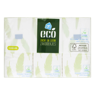 Huismerk ECO zakdoekjes