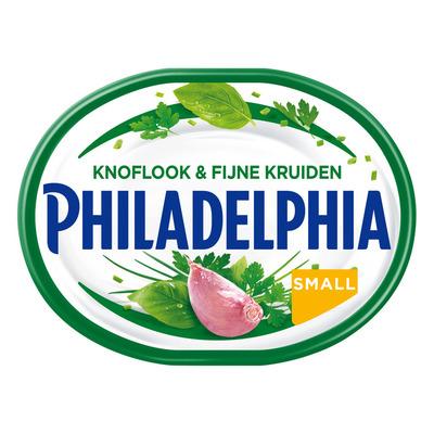 Philadelphia Knoflook en kruiden kleinverpakking