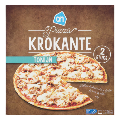 Huismerk Krokante pizza tonijn